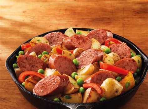 skillet sausage and potatoes smoked sausage and potato skillet hillshire farm 174 brand