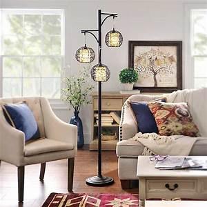 triple wicker floor lamp kirklands With rattan floor lamp kirklands