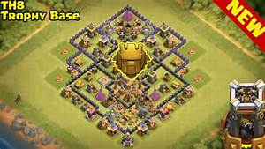 New  Th8 Trophy Pushing Base 2016 With Replays  Proof  U2666 Clash Of Clans