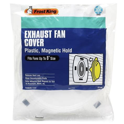 How To Clean Kitchen Exhaust Fan Cover by King 8 In Exhaust Fan Cover Ec108 The Home Depot