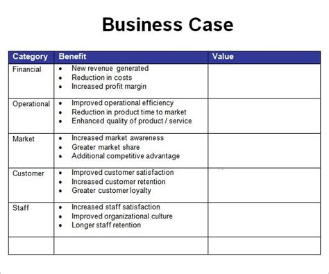 business justification template business template bravebtr