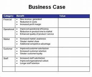 simple business case template strong snapshot powerpoint With simple business case template powerpoint