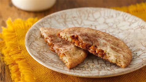 easy salted caramel snickerdoodles recipe bettycrockercom