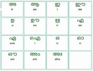 Malayalam Alphabet Free Download Quote Images Hd Free
