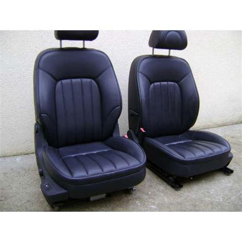 siege peugeot sièges avant peugeot 407 cuir noir