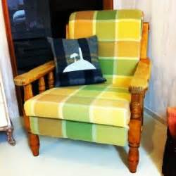 reweb an lawn chair with castoff leather belts