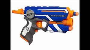 Nerf Elite Firestrike Unboxing And Review
