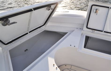 Boat Center Console Hatches by 25 Gravois Bay Recreational Metal Shark