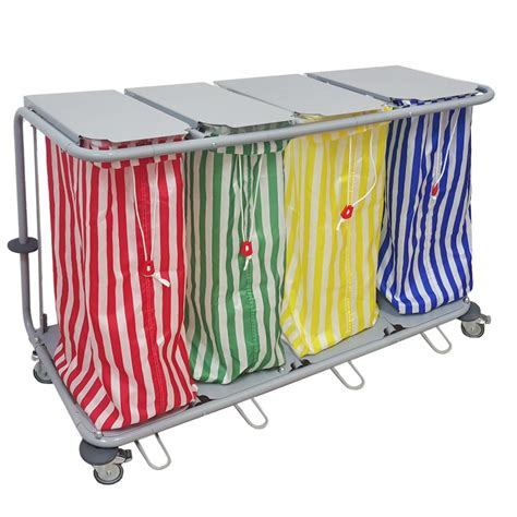 chariot 224 linge 4 sacs teamalex technologies
