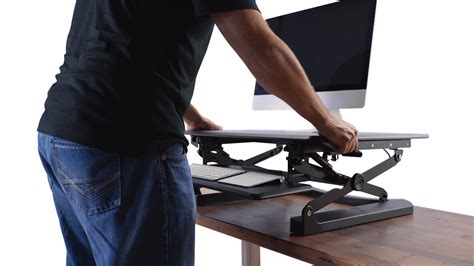 standing desk converter reviews standing desk converter image of portable standing desk