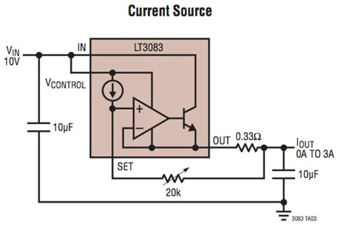 Voltage Regulator For Linear Constant Current Led