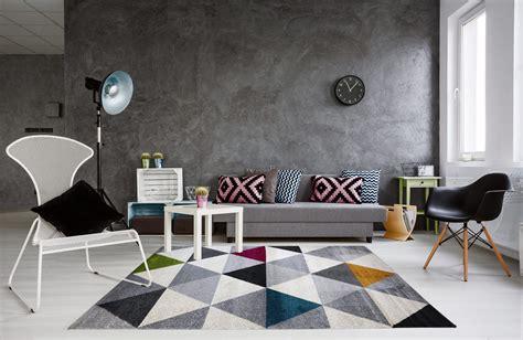 tapis g 233 om 233 trique style scandinave multicolore pour salon gomi