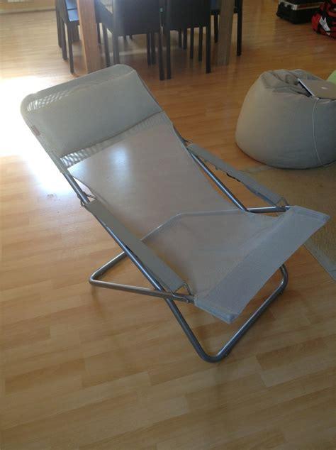 fauteuil transbed xl lafuma chez leclerc