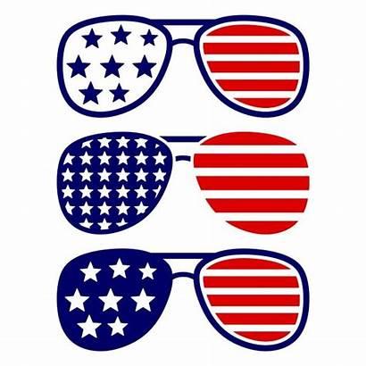 Sunglasses Svg Merica America Clipart Usa Silhouette