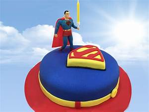 Superman Cake Tutorial ChicLifeStyle