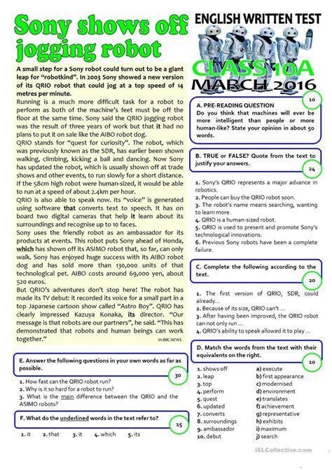 esl grade  worksheets