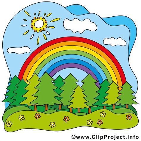 regenbogen clip art kostenlos