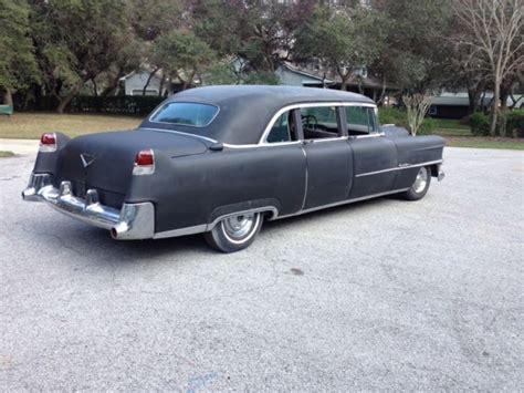 Sedan Limousine by 1954 Cadillac Series 75 Fleetwood 8 Passenger Business