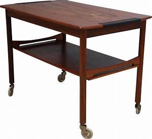 Table Basse Sur Roulette : table basse vintage en palissandre sur roulettes 1950 ~ Melissatoandfro.com Idées de Décoration