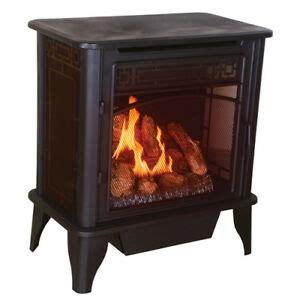 fireplace propane heater ventless gas stove heater fireplace propane gas ebay