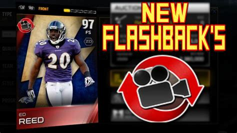 #mut15  New 2nd Edition Flashback Players  97 Ed Reed