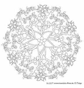 Complex Mandala Coloring Pages