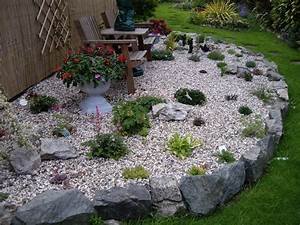 Gravier Pour Jardin : idee deco jardin gravier animaux deco jardin en metal ~ Premium-room.com Idées de Décoration
