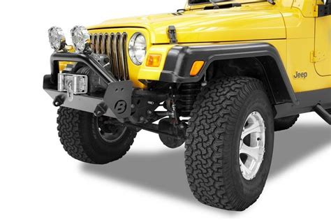 Bestop Highrock 4x4 Narrow Style Front Bumper For 97-06