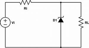 Circuit Analysis - Load Resistance Determination In Zener Diode