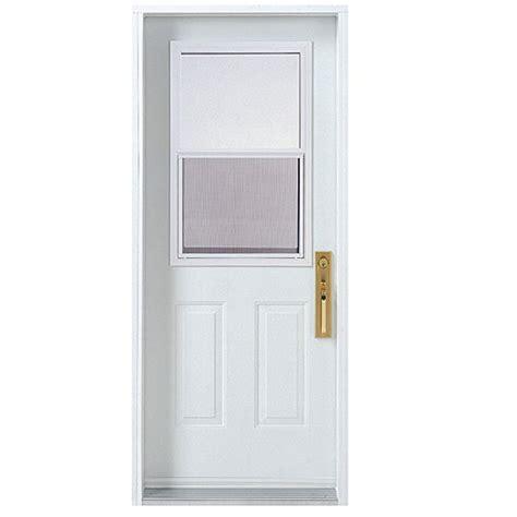 30 x 80 exterior door with window melco hung window exterior steel door 30 x 80 quot right