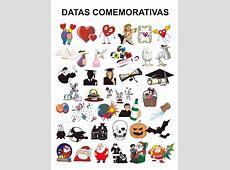 DATAS COMEMORATIVASDIAS DO ANO
