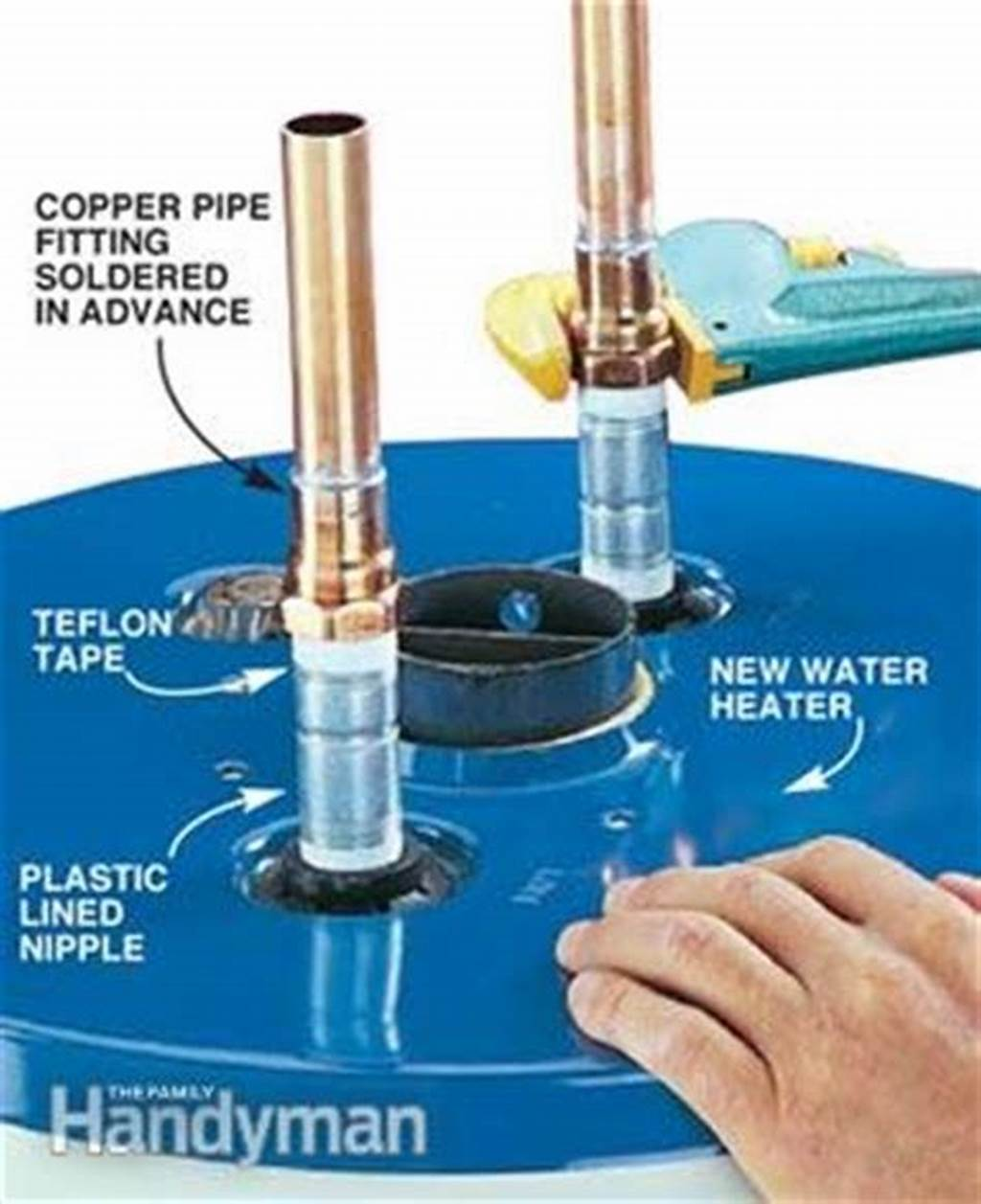 #How #To #Install #A #Hot #Water #Heater #The #Family #Handyman