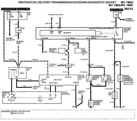 1985 Mercede Fuel System Diagram by I A 1985 280sl No Voltage To The Fuel Need A