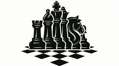 Chess Clipart Pieces Setup Chessboard Board Strategy