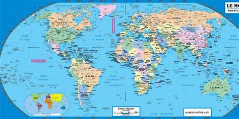 Carte Du Monde En Francais Avec Capitales by Les Capitales Du Monde 187 Vacances Arts Guides Voyages