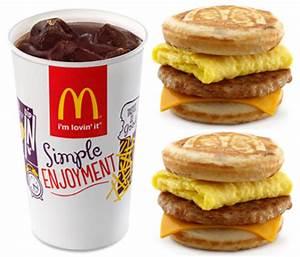 FREE McDonald's Soft Drink w/ Purchase & BOGO Breakfast ...