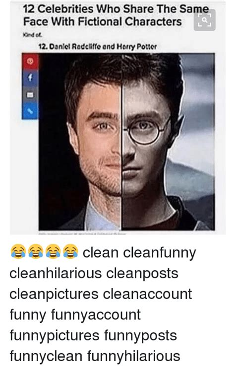 Funny Character Memes - 12 celebrities who share the same face with fictional characters 12 dantol radchito and horry