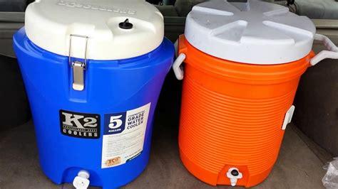 K2 Water Cooler Vs Rubbermaid Part2