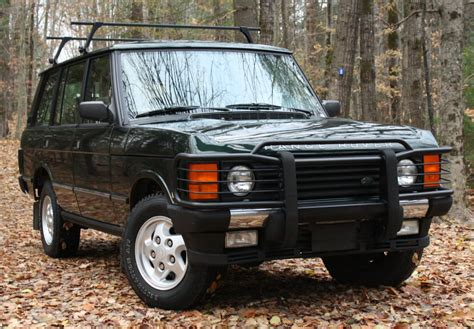 1995 land rover range rover county lwb for sale bat auctions sold for 15 750 november