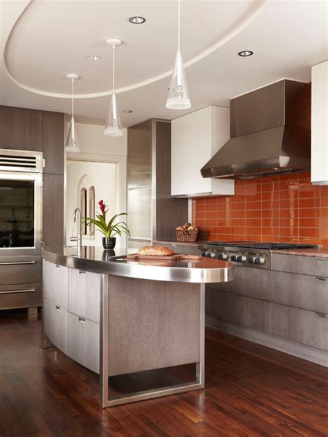 oval kitchen islands design ideas remodel pictures