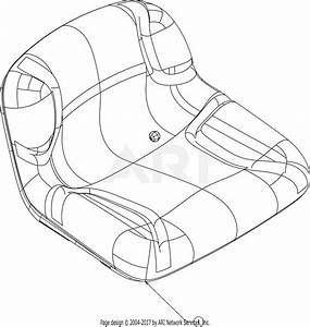 Troy Bilt Bronco 13wv78ks211  2016  Parts Diagram For Seat