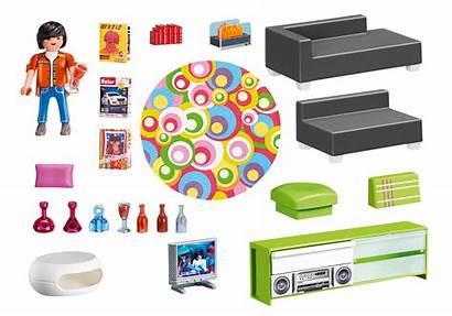 Playmobil Salon 5584 Moderne Wohnzimmer Woonkamer Estar