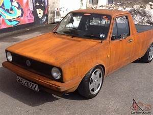 Vw Caddy Pick Up : vw caddy mk1 pick up rat euro dub rusty full mot 6 tax g60 rear sliding windows ~ Medecine-chirurgie-esthetiques.com Avis de Voitures
