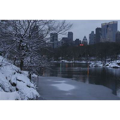 Central Park Winter Wallpaper - WallpaperSafari