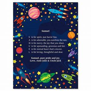 Space Name Poem Print | Current Catalog
