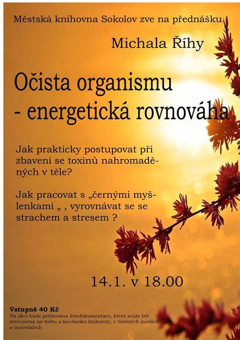 Očista organismu - energetická rovnováha | Městská ...