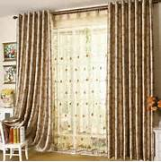 Curtain Living Room Design by 2015 New Design Living Room Curtain Beautiful Flower Patterns Bedroom Curtain