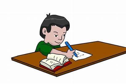Studying Boy Homework Student Study Writing Clipart