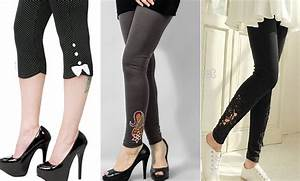 Ladies Tights, Capri Pants & Leggings Designs Latest Collection