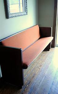 Spunky Junky  Reupholstering The Church Pew